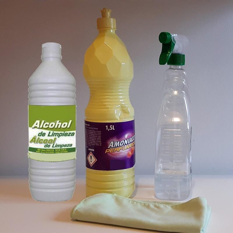 Cómo hacer un potente limpiador multiusos casero con dos ingredientes