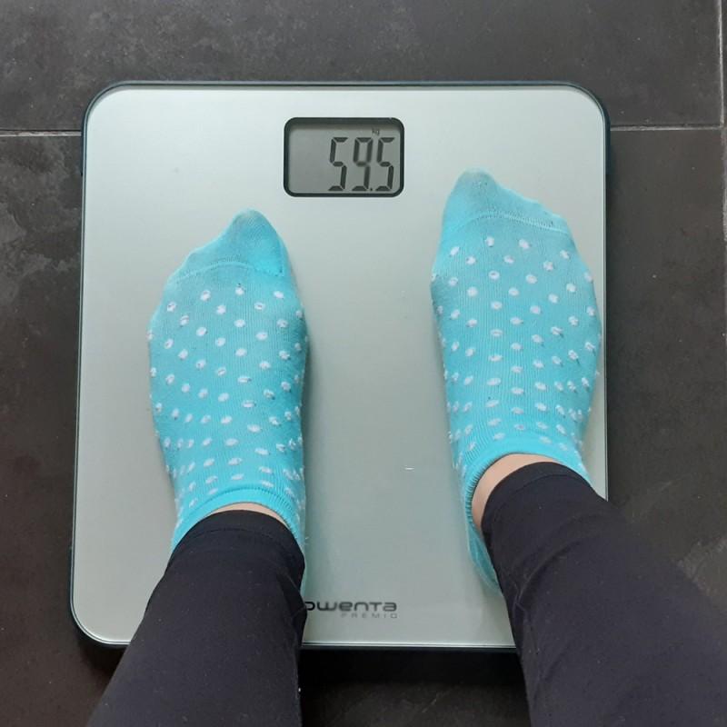 ¿Por qué gano peso cuando tengo la regla?