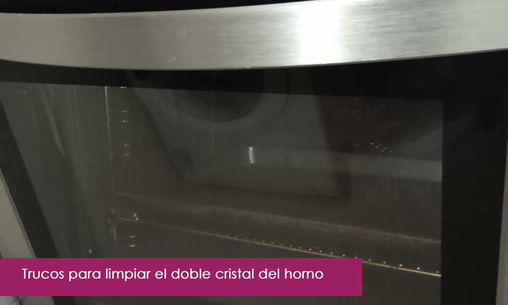 trucos para limpiar el cristal del horno