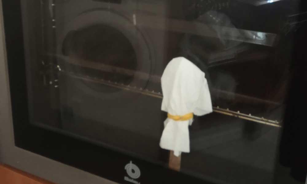 truco para limpiar el doble cristal del horno