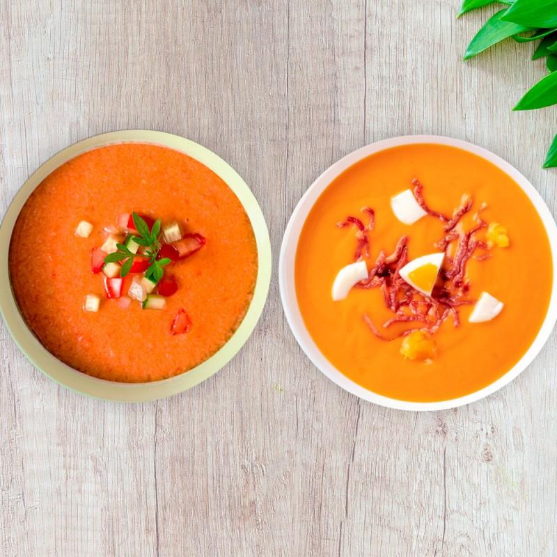 Cuál es la diferencia entre el gazpacho y el salmorejo