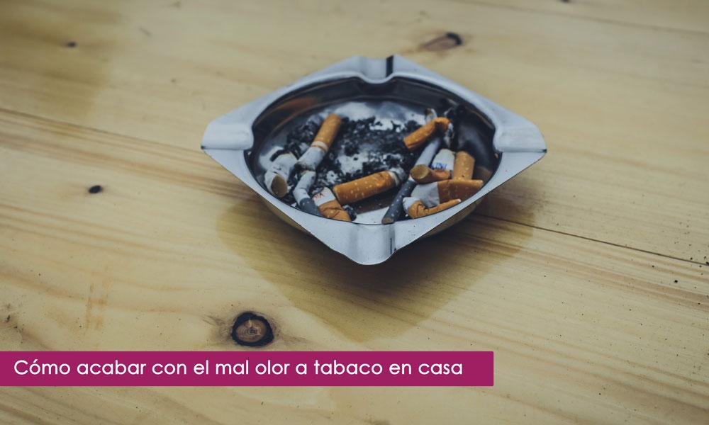 mal olor a tabaco en casa