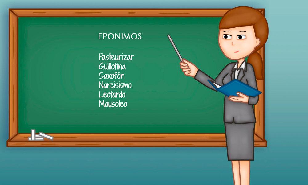 qué son los epónimos