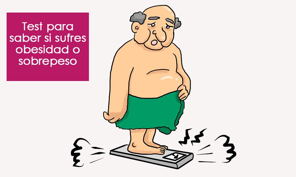 test de obesidad o sobrepeso