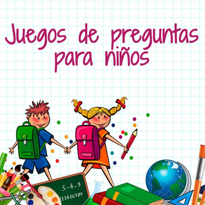 Juegos de Trivial para niños de Primaria: Test educativos (con soluciones)