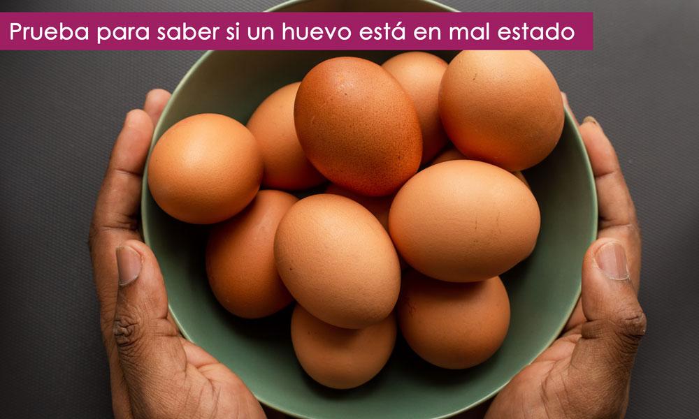 como saber si un huevo está bueno