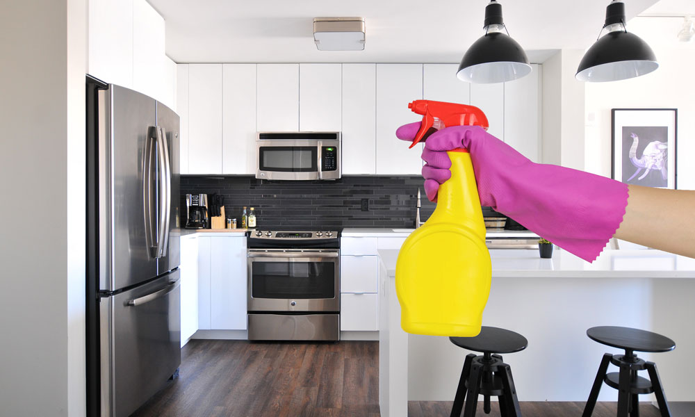 trucos para limpiar tu cocina