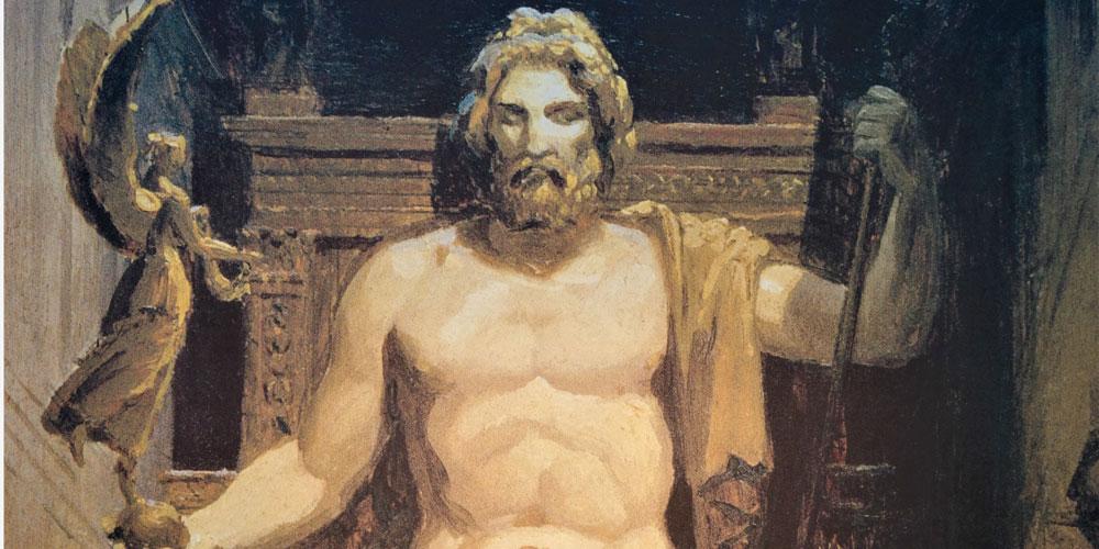 mitos de Zeus curiosos