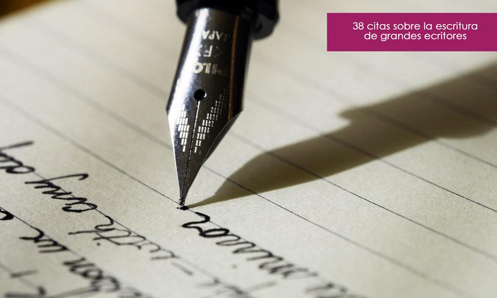 frases sobre la escritura