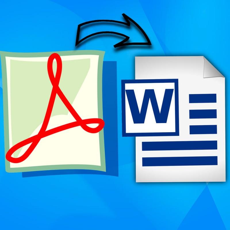 Cómo abrir un archivo PDF en Word para poder editarlo