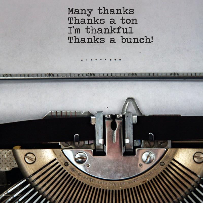 Cómo dar las gracias en inglés además de decir Thank you!