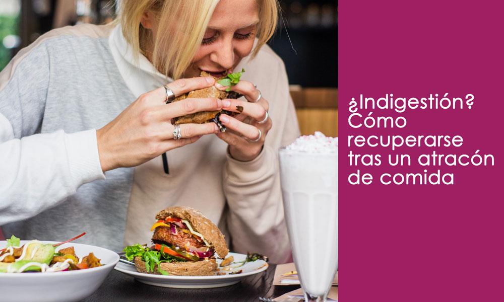 indigestión tras comer mucho