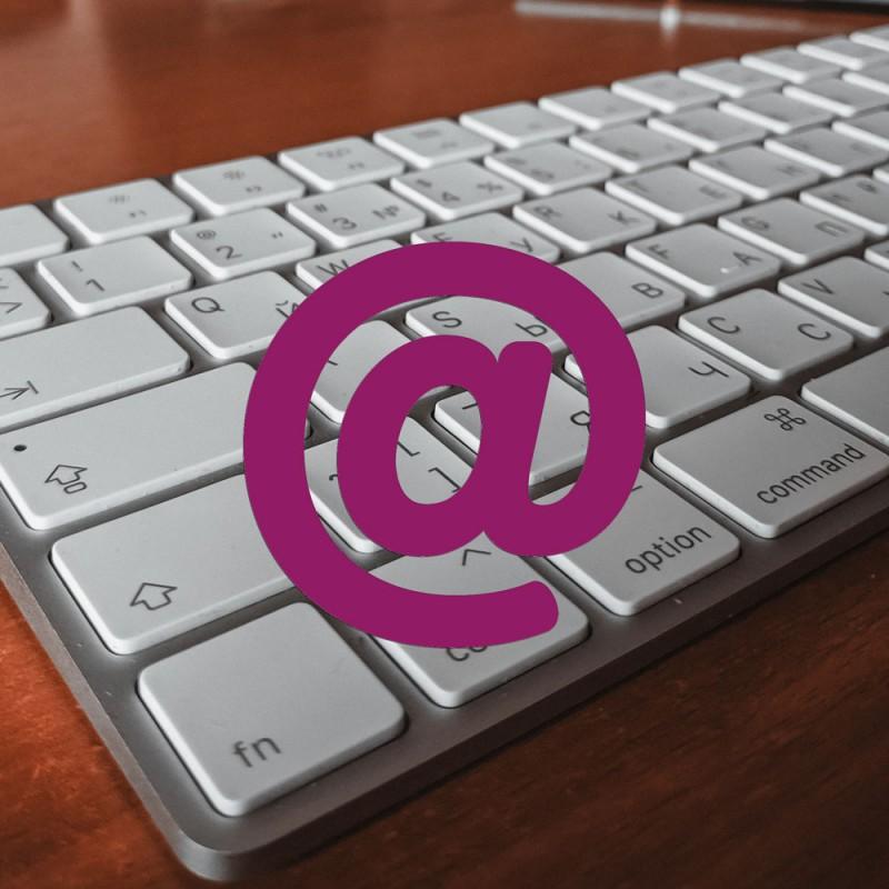 Cómo poner la arroba (@) en Mac: atajos de teclado