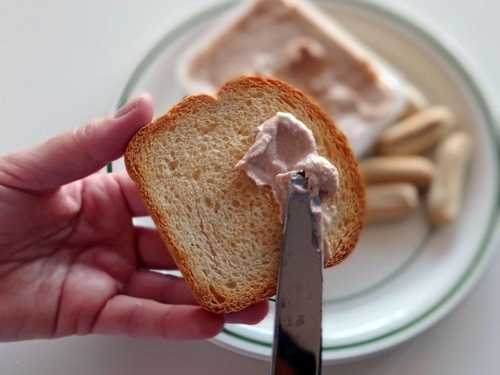 receta casera de paté de mejillones