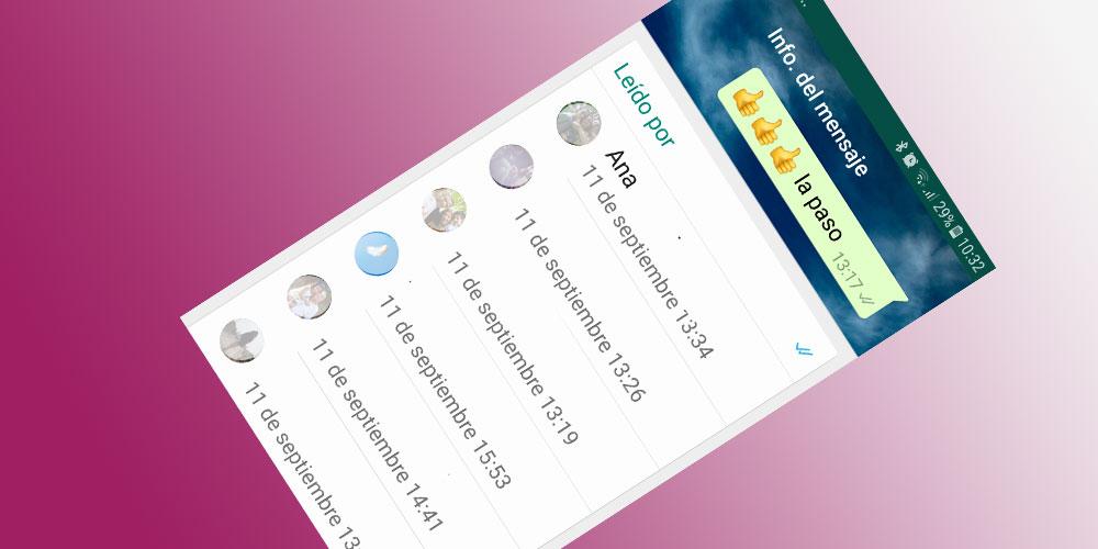 Trucos de la aplicacion whatsapp