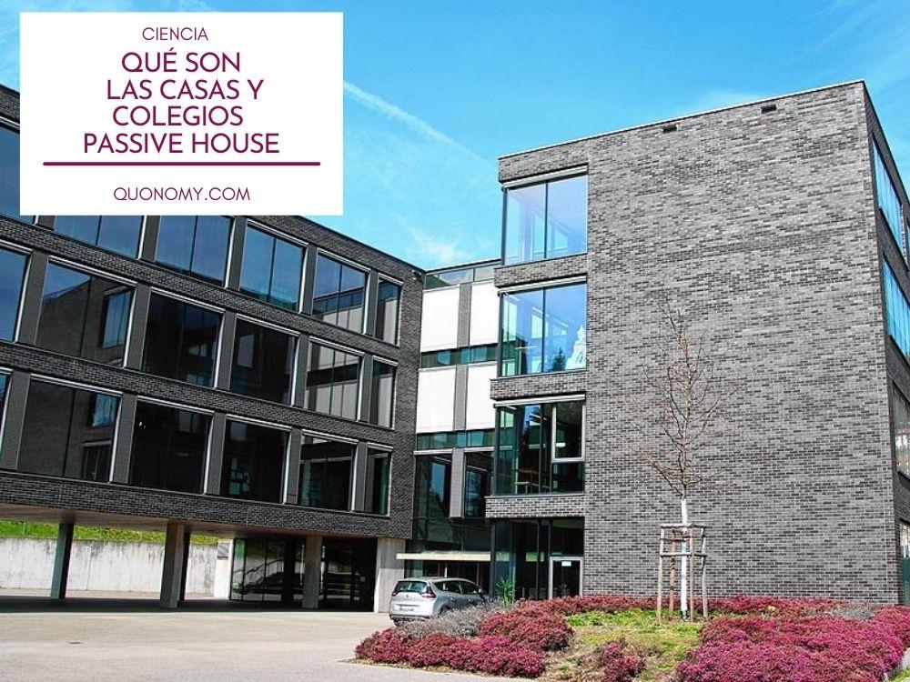 casas y colegios passive house