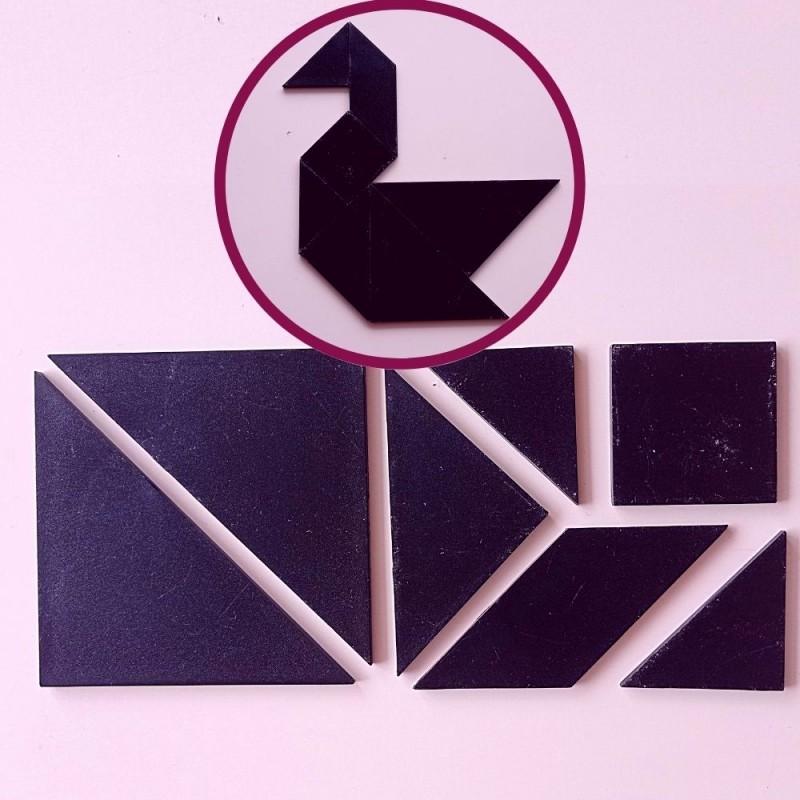 Retos de tangram: ¿eres capaz de hacer estas figuras?