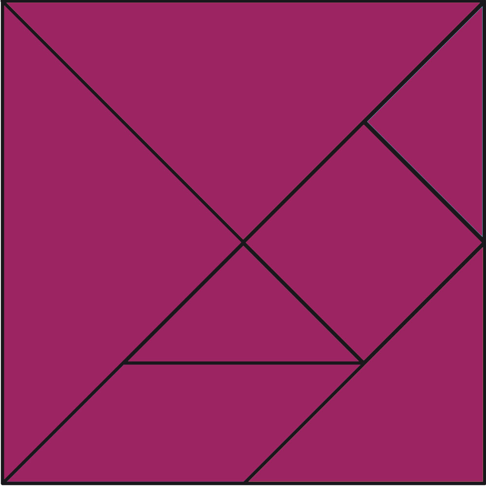 plantilla de tangram