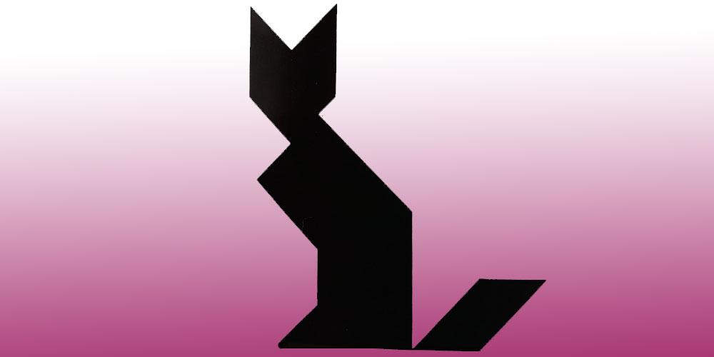 Gato de tangram