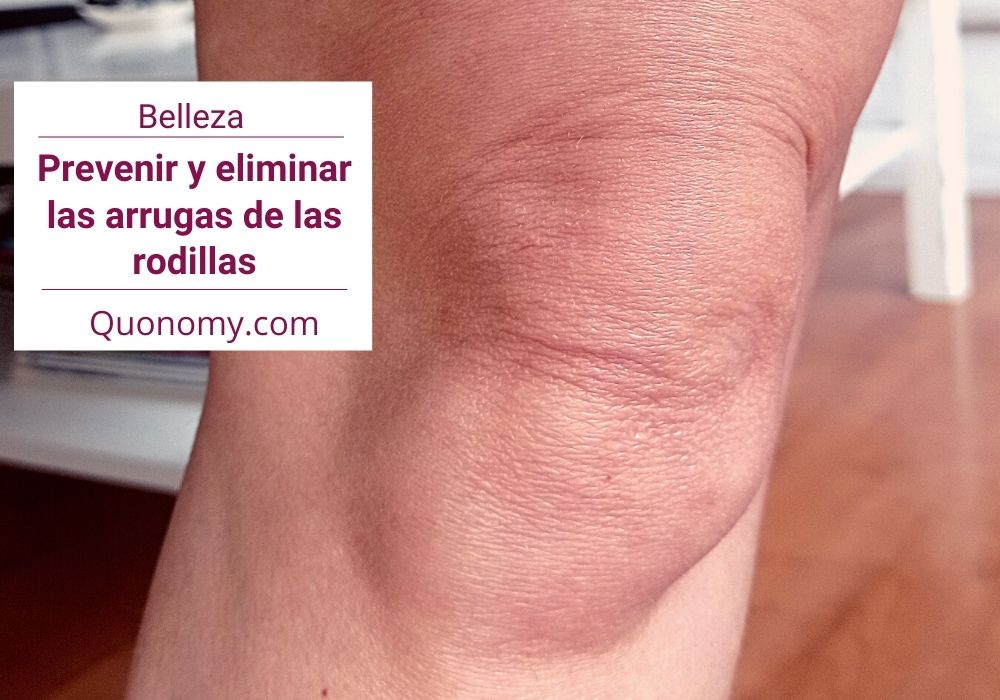 prevenir o eliminar arrugas en las rodillas