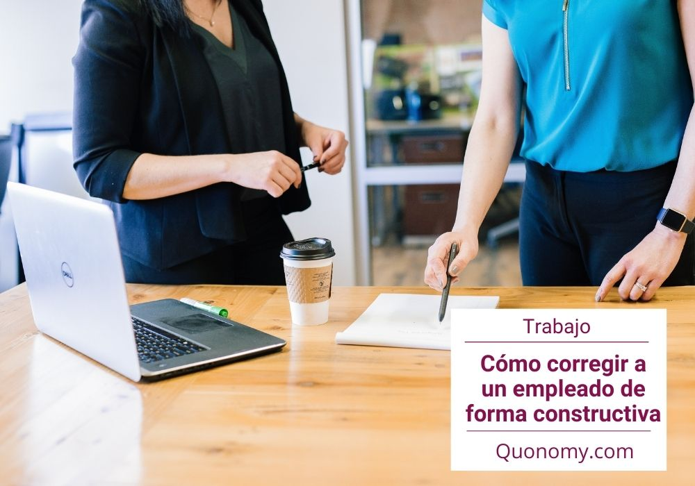 Corregir a un empleado de forma constructiva