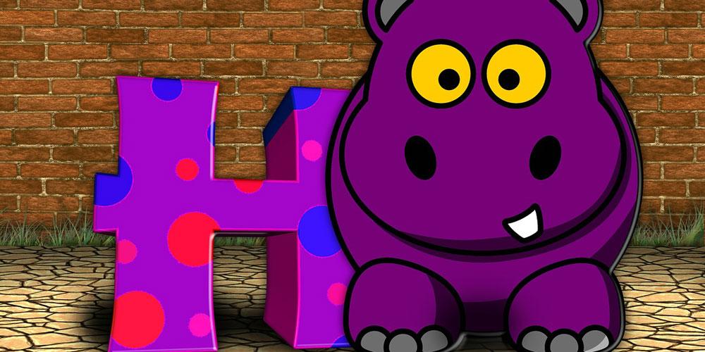 trabalenguas del hipopótamo