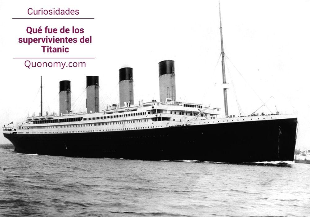 supervivientes del titanic, su  historia