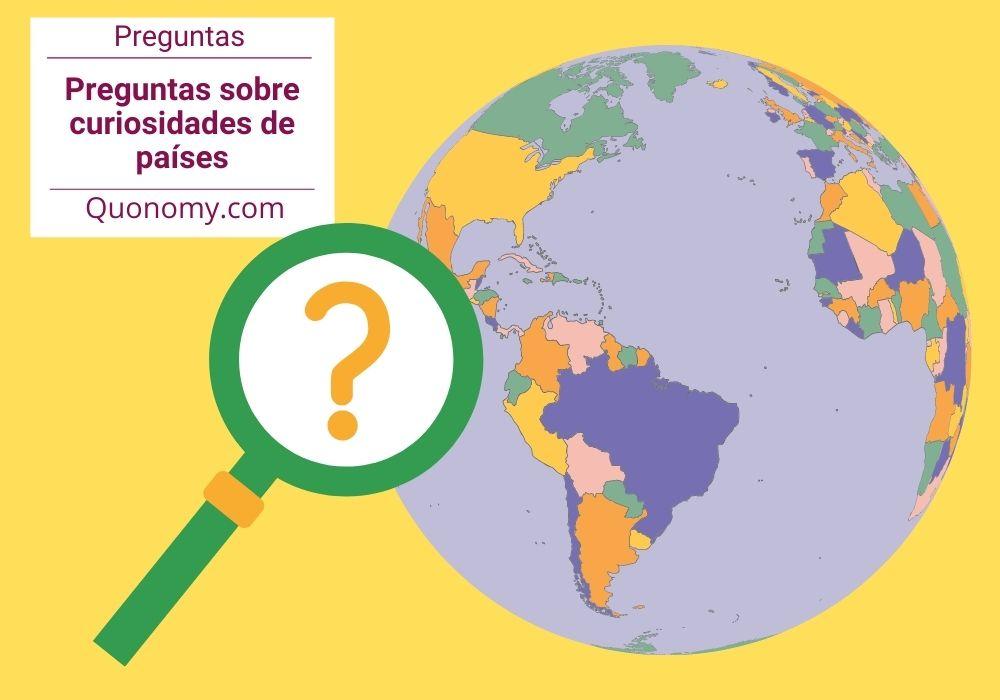 preguntas tipo test: curiosidades de países