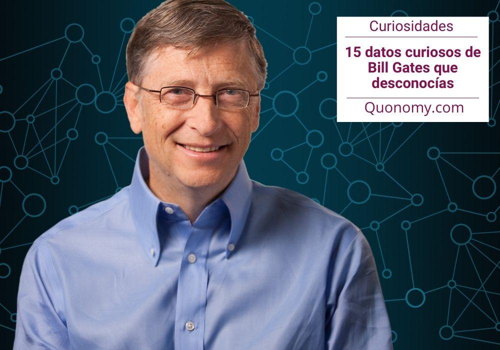 datos curiosos de bill gates