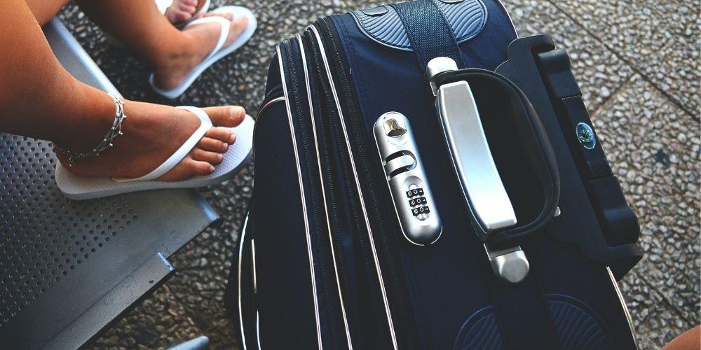 contraseña de la maleta
