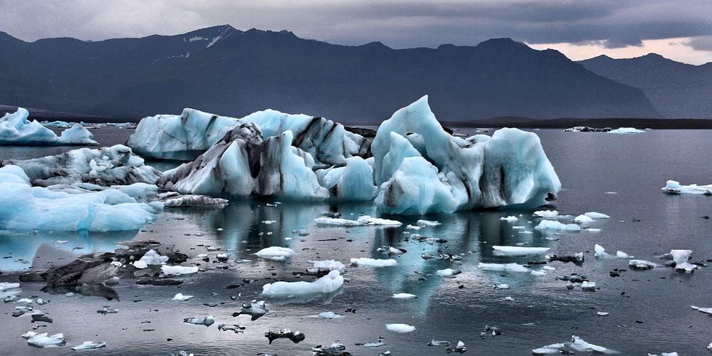 los glaciares se derriten más rápido