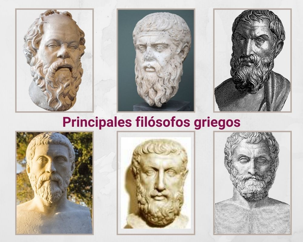 principales filósofos griegos