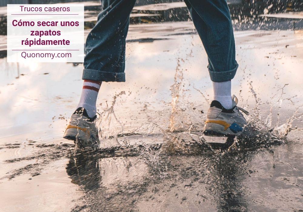 secar zapatos rápidamente