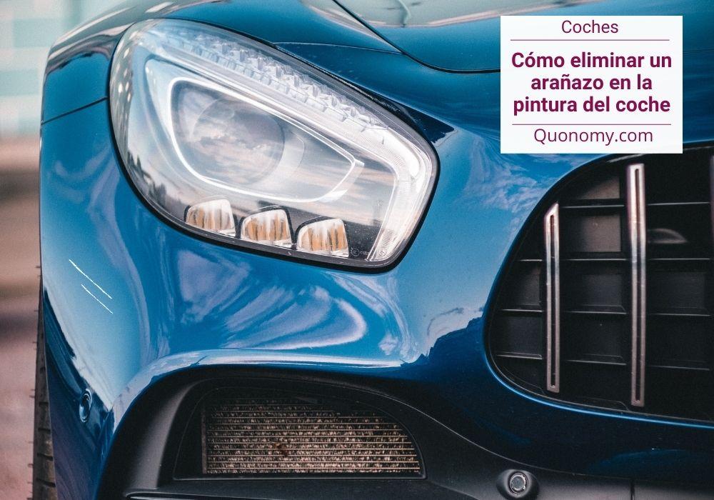 eliminar arañazo en la pintura del coche