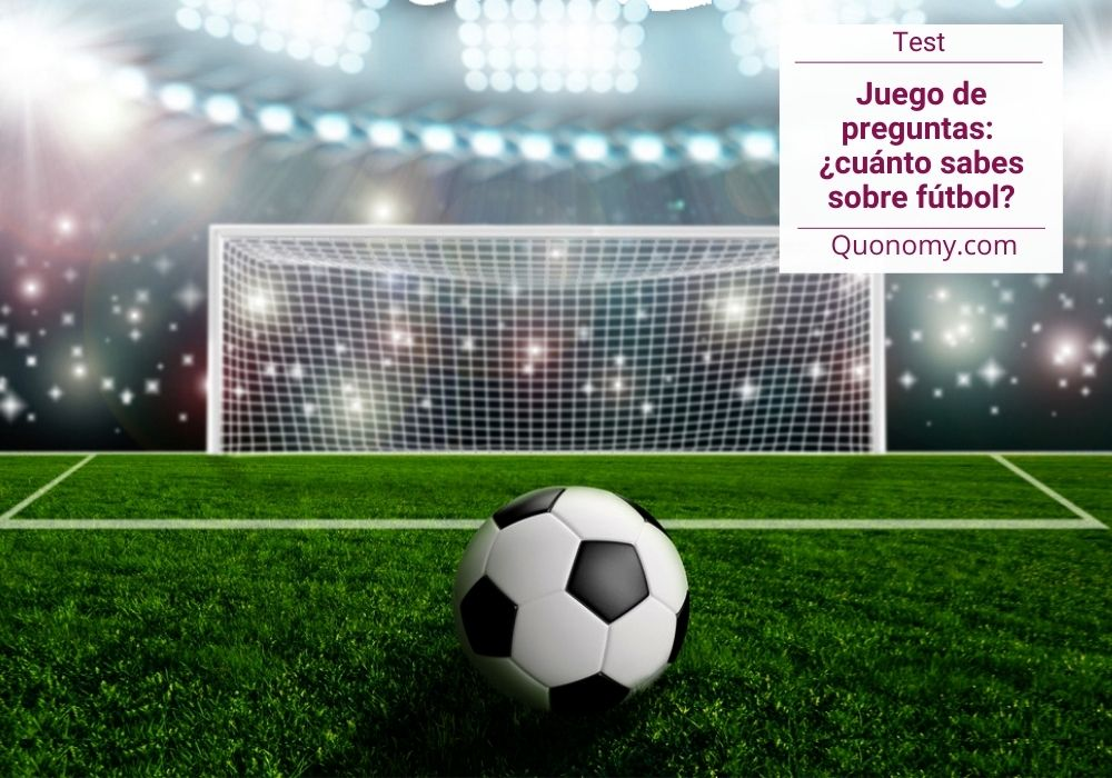 preguntas sobre fútbol (juego tipo test)