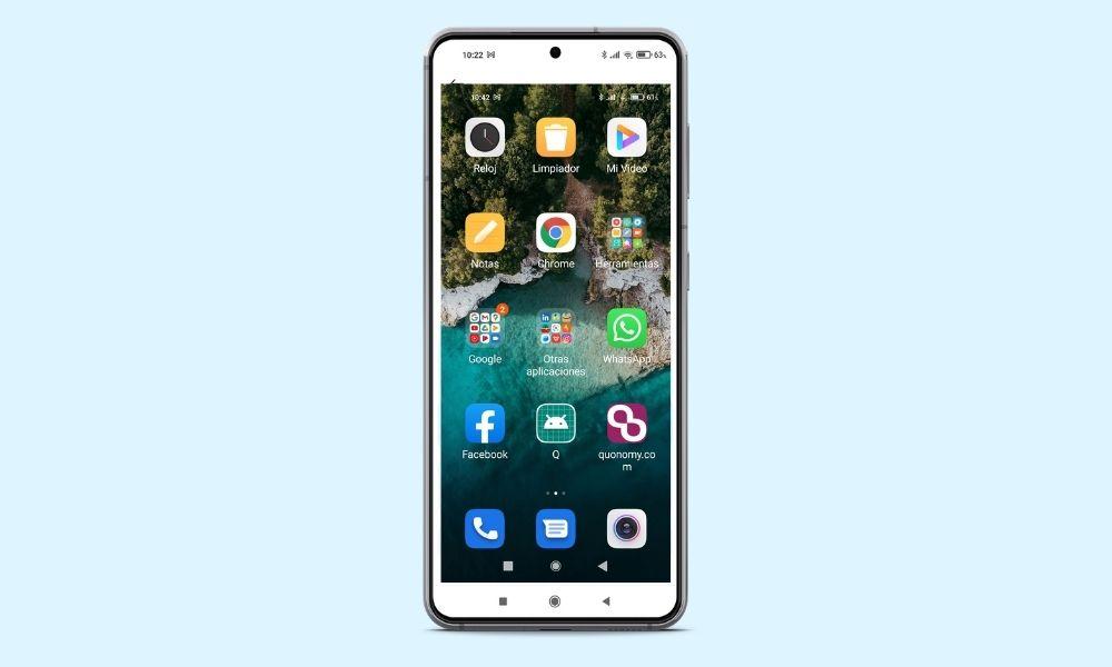 Iconos más grandes en Xiaomi