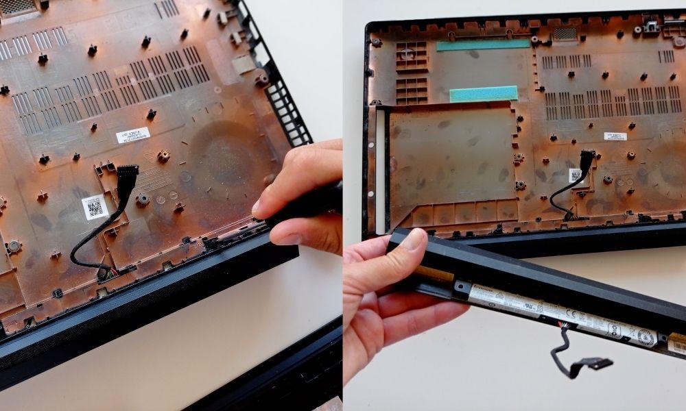 cambiar la batería de tu lenovo, paso 6
