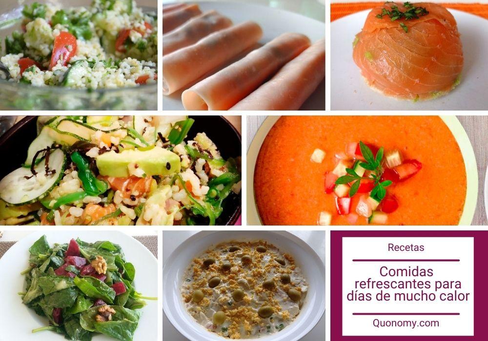 recetas fresquitas para días de calor