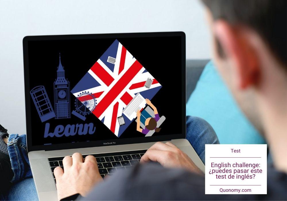 English challenge, test de inglés para ponerte a prueba