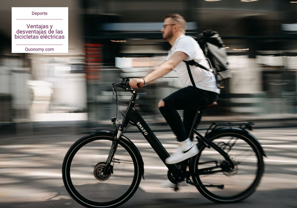 beneficios y desventajas de las bicis eléctricas