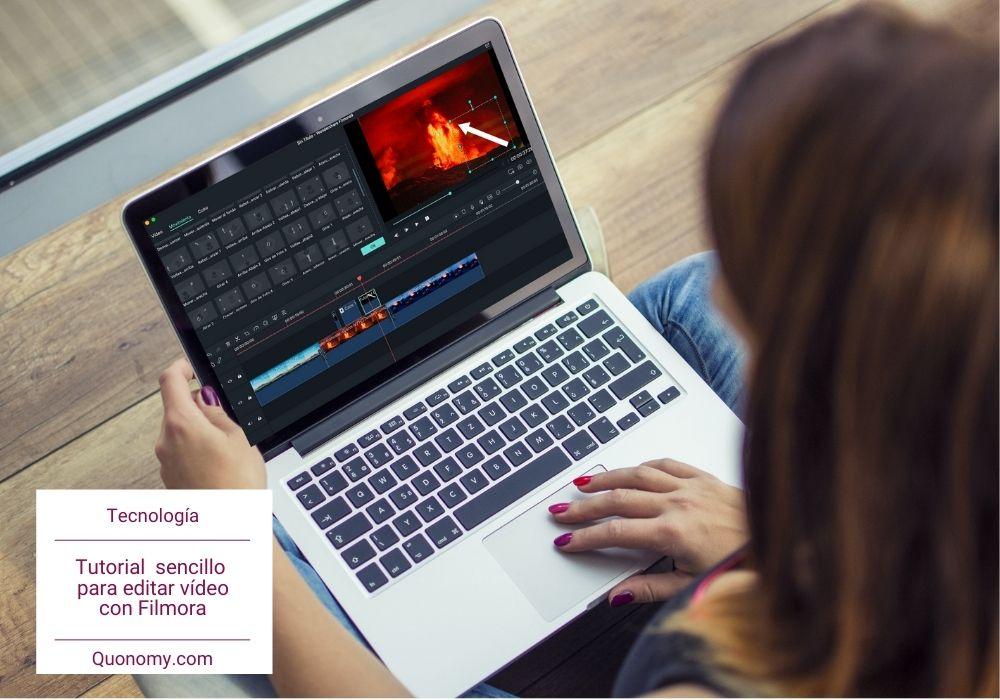 fácil: editar vídeo con filmora