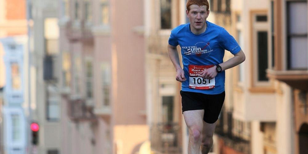 irritación al correr