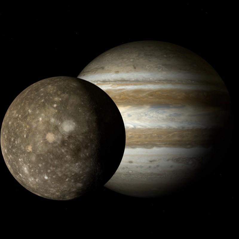 Cuáles son las lunas de Júpiter y por qué una tiene agua