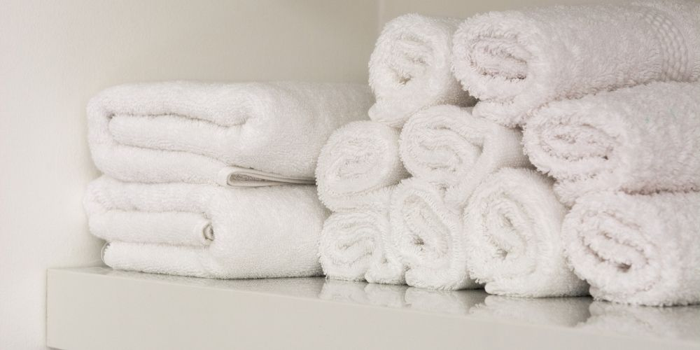 almacenar toallas
