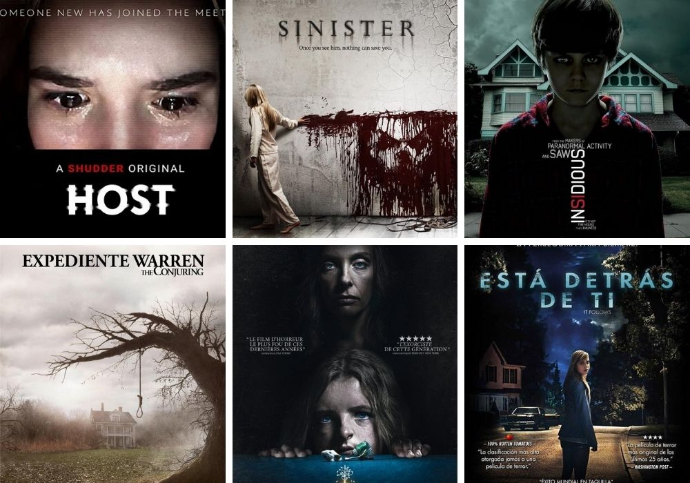 cine de terror para halloween