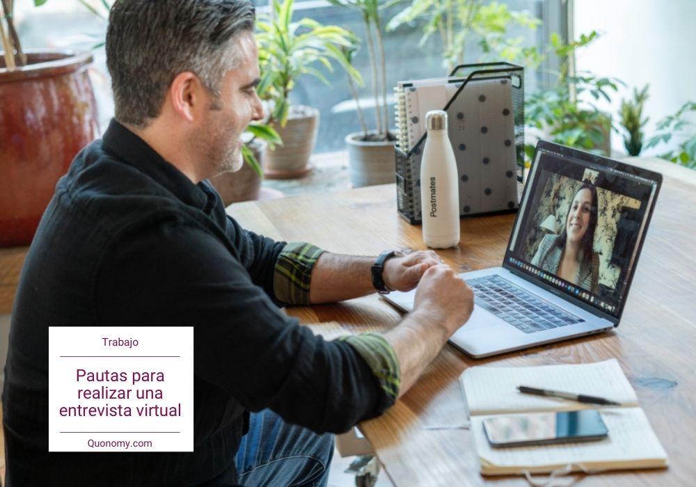 cómo hacer una entrevista virtual
