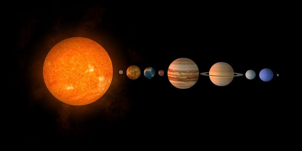 curiosidades sobre el sistema solar