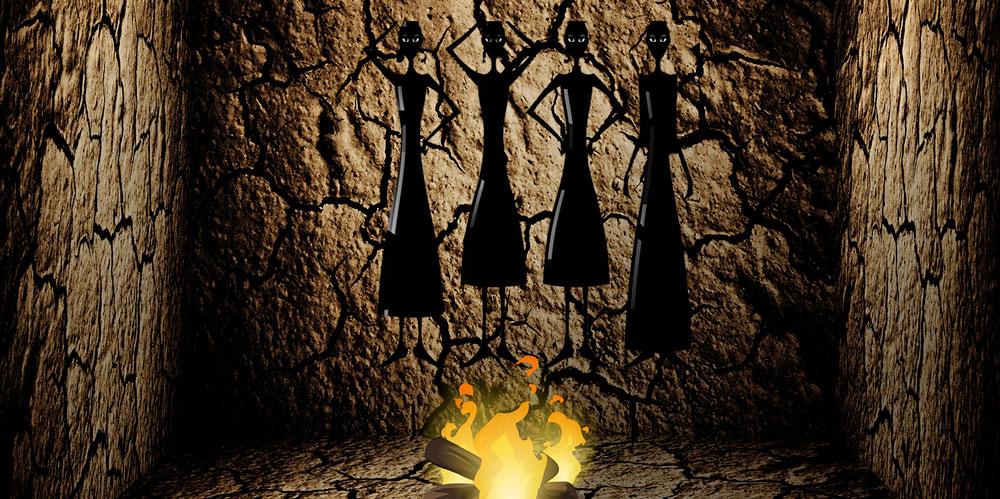 significado del mito de la caverna