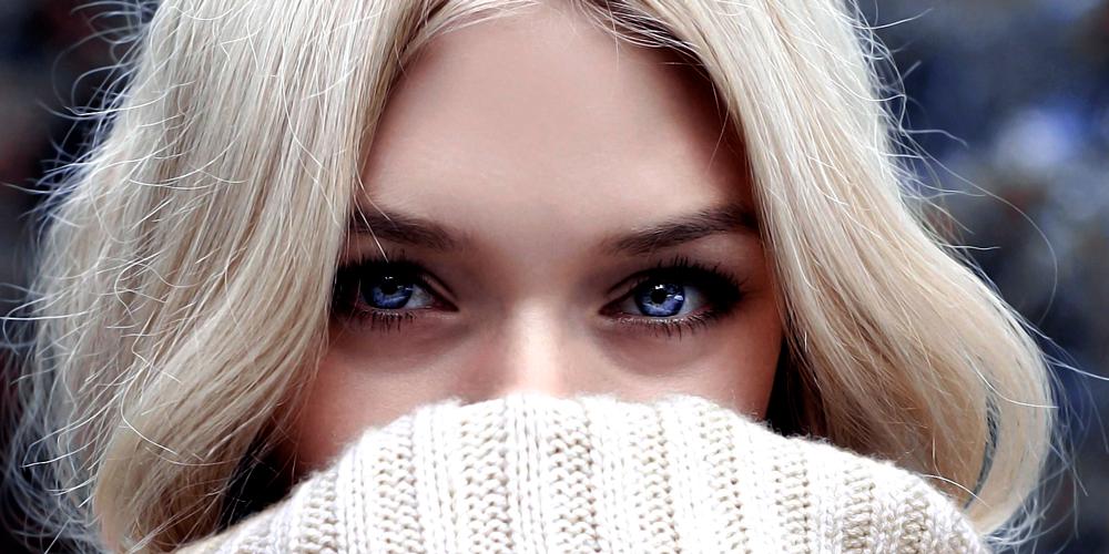 Ojeras oscuras en los ojos
