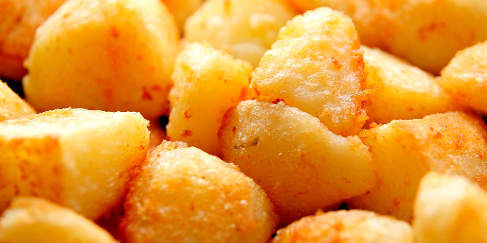 Patatas asadas al microondas en 3 pasos